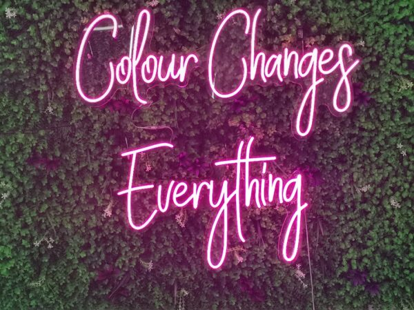Colour Changes Everything