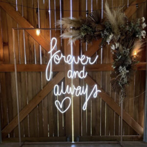 Forever and Always ❤️ Neon Sign